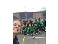ADULT NETBALL PLAYERS AGE 18-55 yr olds wanted