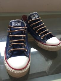 Converse - size 8 mens - WORN ONCE - Like new.