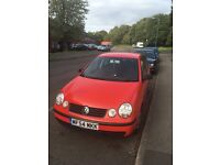 Vw polo 1.2 5 door full mot
