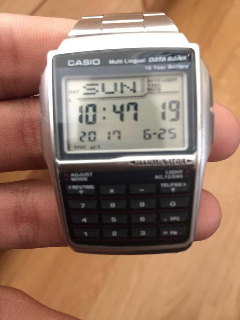 Casio calculator watchin Cyncoed, CardiffGumtree - Casio calculator watch for sale in good working order. Please ring for more information