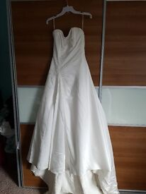 Diamond white size ten wedding dress