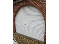 GDO-4 EASYROLLER ROLL UP GARAGE DOOR OPENER AND GARAGE DOOR WITH X2 REMOTES
