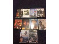 DVD BUNDLE - CAN BUY SEPERATELY - Braveheart, There Will Be Blood, Kurosawa, Lynch...