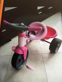 Early learning push along trike