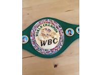 WBC 1/2 size replica belt