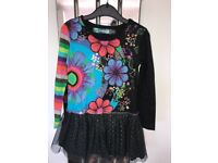 Desigual Girls clothes age 5-6, 4 dresses in total