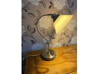 Table lamp- glass shade