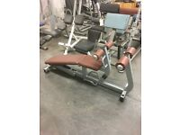 TECHNOGYM PURE STRENGTH ADJUSTABLE ABB CRUNCH BENCH FORSALE!!