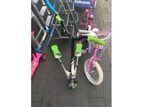 Kids scooter £30 each