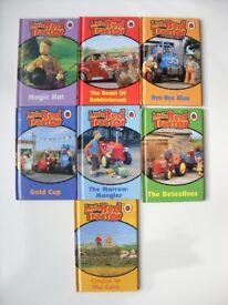 Ladybird Books x 7 - Little Red Tractor Series