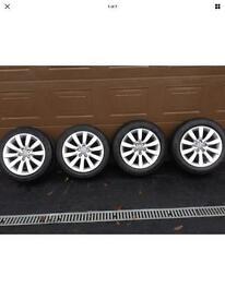 "Genuine & Unmarked Audi 16"" Alloy Wheels"