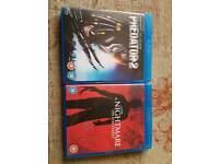 Blu Rays £2.50 each