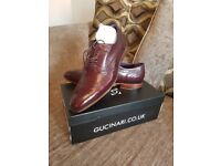 Gucinari Mens Shoes -genuine leather never worn sz 9