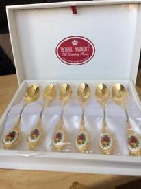 Royal Albert Tea Spoons
