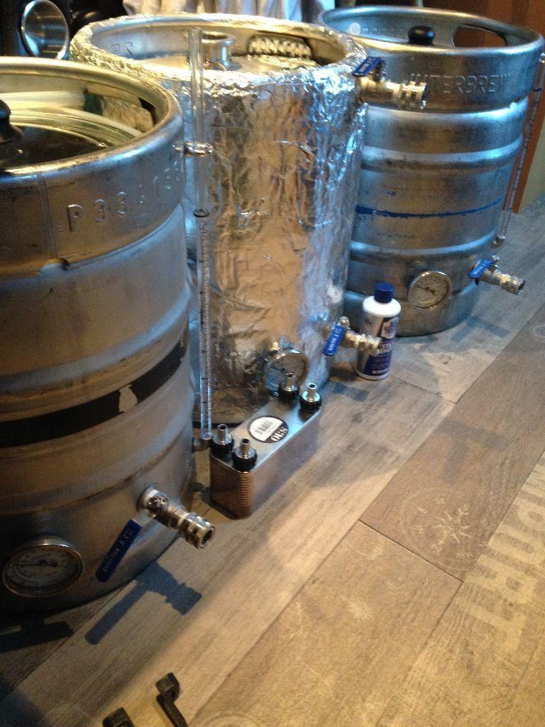 home brew all grain setup 10 gallon keg craft beer home bar pub