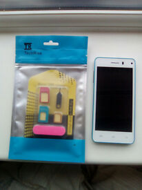 Leagoo Lead 6 phone plus SIM card adapters