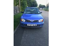 £475 ono NISSAN MICRA LOW MILEAGE GREAT CONDITION FOR AGE X-REG