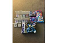GameBoy boxed with games (Retro) 1989 mint condition