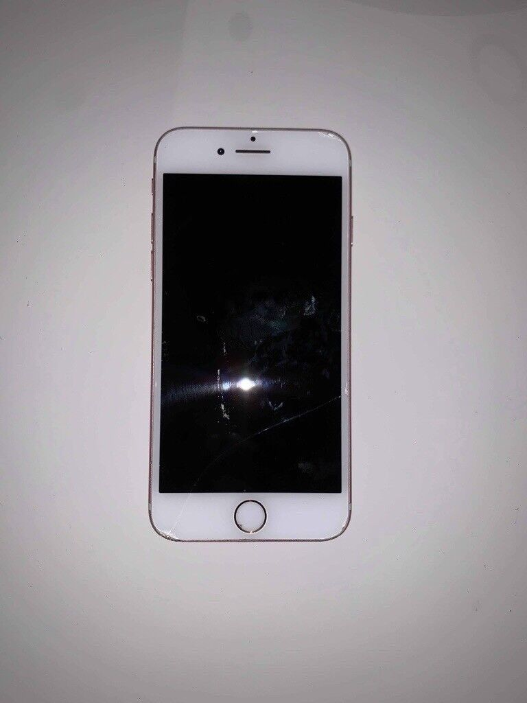 detailed look 07c79 92b0e Iphone 7 32gb EE rose gold (cracked screen and home button doesnt work) |  in Barry, Vale of Glamorgan | Gumtree