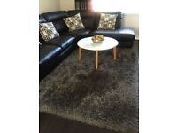 Large gray rug