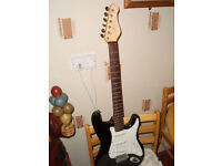 ELECTRIC GUITAR..and AMPLIFIER