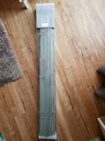 Grey Wooden Venetian Blind 3ft x 5ft BNIB