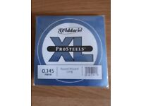 D'Addario Pro-Steels Round Wound Long 0.145