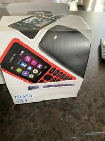 Nokia 130 mobile phones available 4 in total £30 for 4 phone