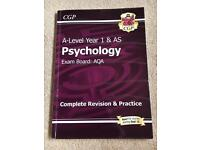 CGP AQA A-Level Psychology Year 1 Sept 2015 onwards