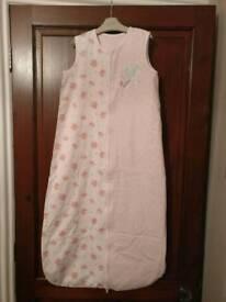 Baby girls 1 tog sleeping bag (mothercare) 18-36 months.