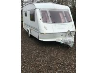1995 elddis hurricane 2 berth excellent condition