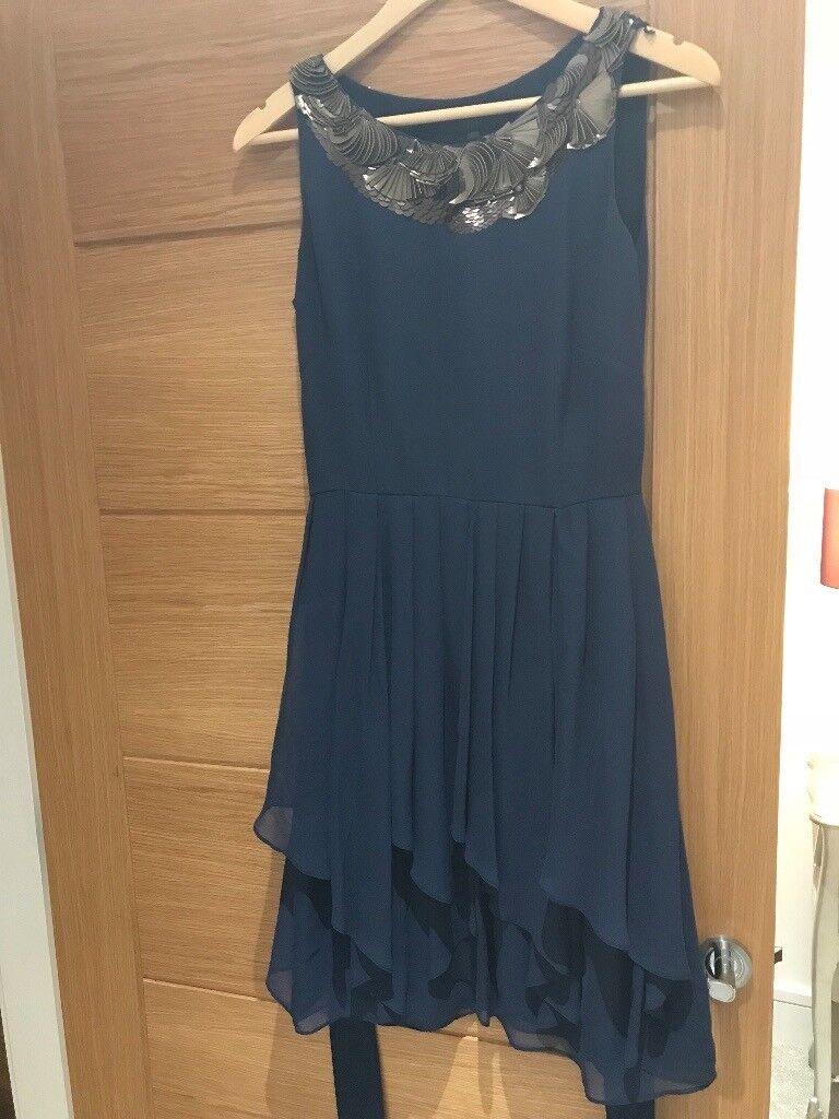 Coast - Navy blue dress - Size 10