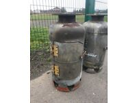 Bespoke Gas Bottle Wood Burner / Chimenea / Patio Heater 2 Available Can Deliver ring malc