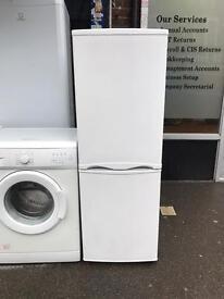 "Amica fridge freezer height 140""cm width 55""cm"