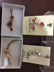 Belly jewellery and body jewels