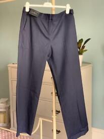 Navy Tailored Trousers from Next BNWT sz14