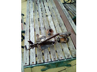 B&B 50MM VINTAGE BRAKED TRAILER CARAVAN TOW HITCH