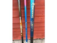 Fishing pole rods