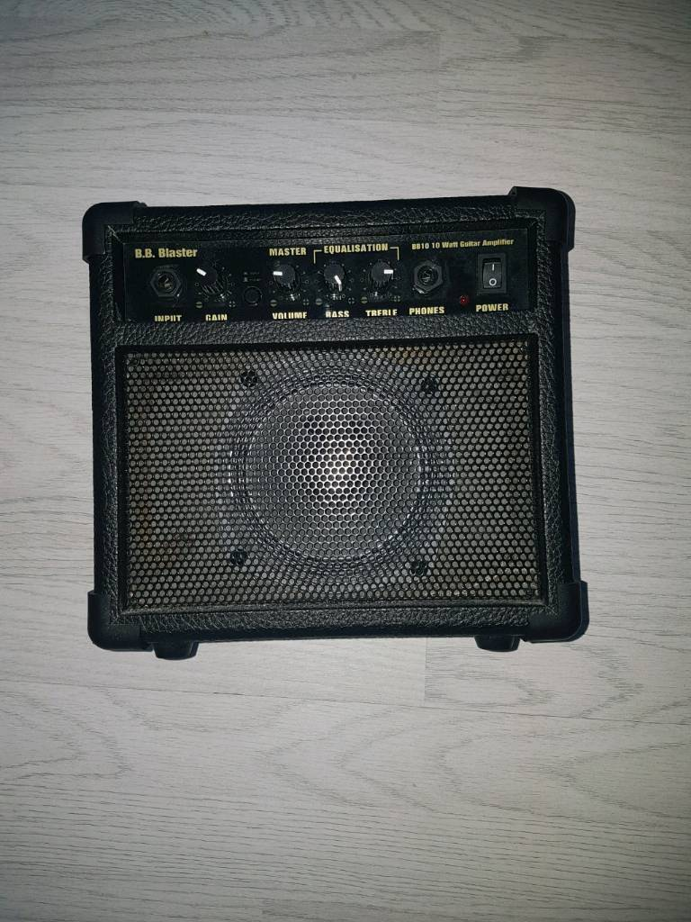 BB Blaster guitar amp