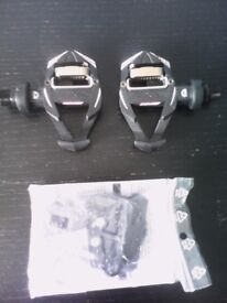 Time RXS Carbon Cycle Pedals And Cleats Road / MTB Brand New Carbon Fiber
