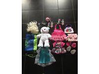 Build a Bears (x2) plus accessories bundle: Rainbow Dash and Elsa from Frozen