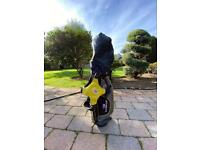 """US Kids Golf Bag Yellow with Clubs 42"""""""
