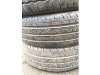 Van tyres 215/75/16c. Set of 4