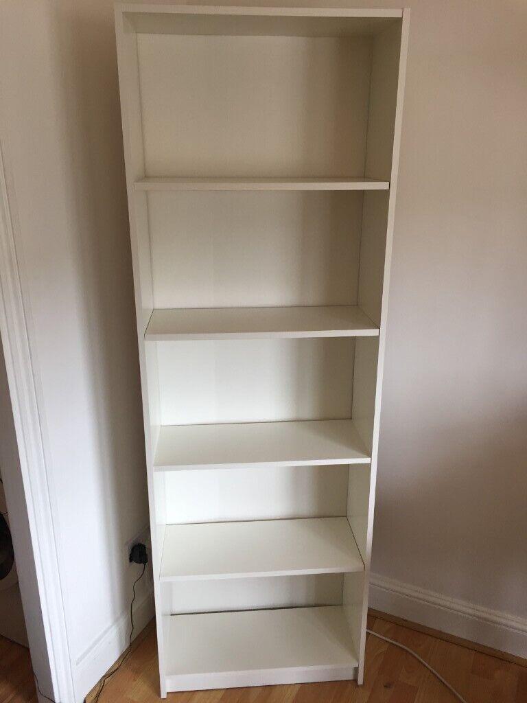 GERSBY white, Bookcase, 60x180 cm IKEA