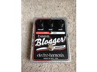 Electro-harmonix Bass Blogger fuzz/overdrive bass guitar pedal for sale