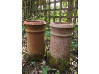 Chimney pots Victorian reclaimed