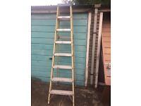 7 tread steps / ladder