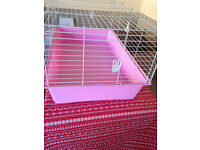 Rabbit or guinea pig or hedgehog indoor cages from 20 (small one) to 70 (everything)
