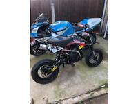 Supermoto stomp pit bike 140cc
