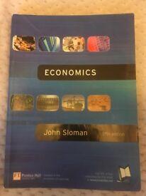 Economics fifth edition by John sloman